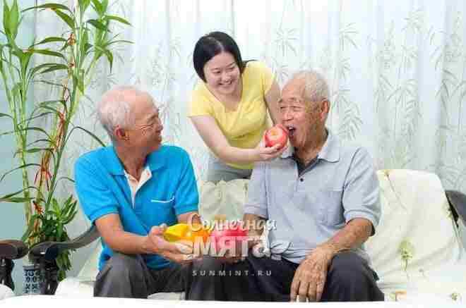 Здоровые китайские вегетарианццы