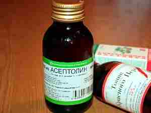 Асептолин как аналог Теймуровой пасты