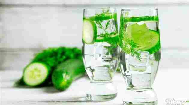 огуречная вода для кожи