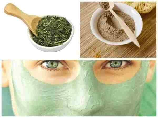 маска для лица из чая