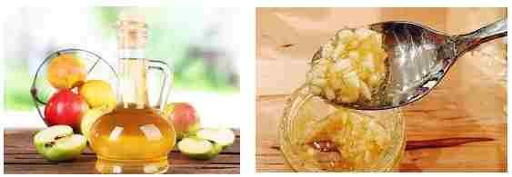 Яблочный уксус и чеснок, выводим папилломы