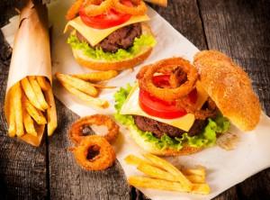 жирная вредная пища