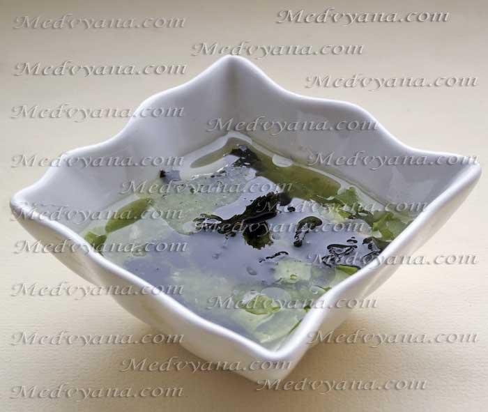Домашний лосьон от морщин с алоэ и водорослями