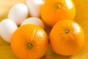 Яично-апельсиновая маска
